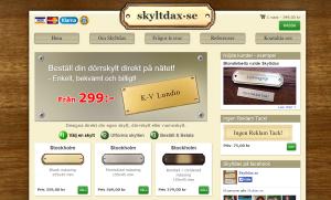 Skyltdax